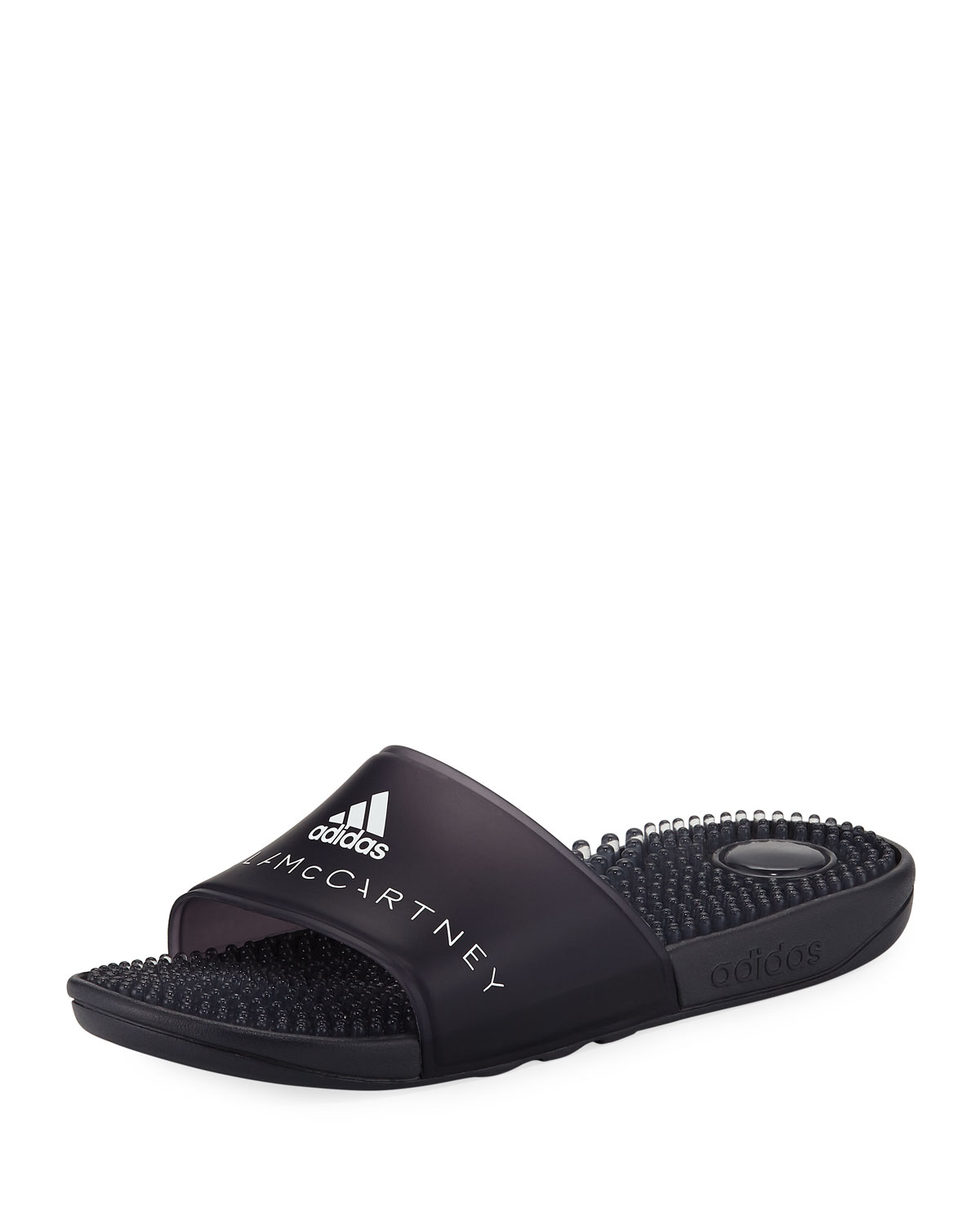1e2530001a97 adidas by Stella McCartney Adissage Slide Sandal with Massaging Footbed