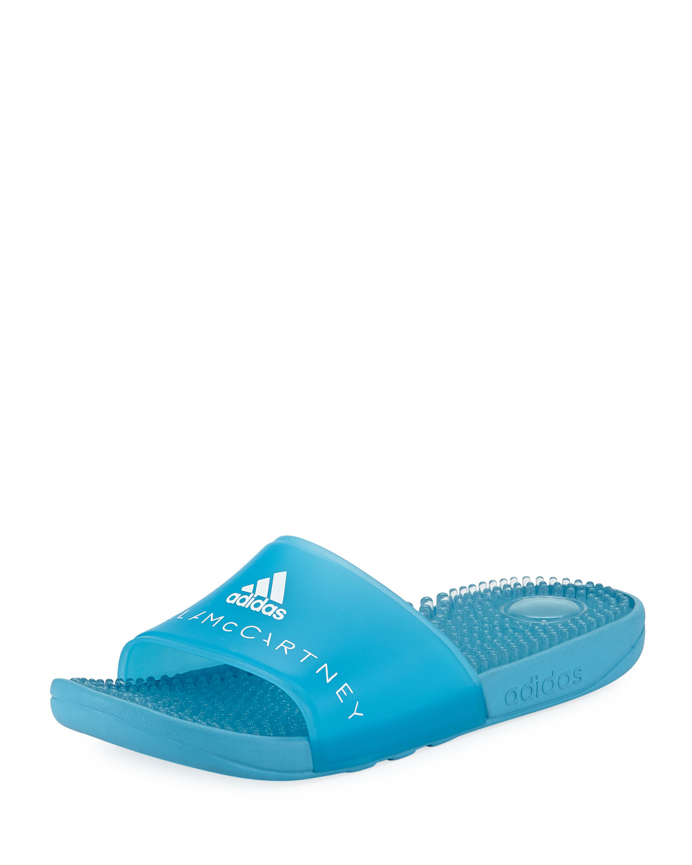 e2d0de045 adidas by Stella McCartneyAdissage Slide Sandal with Massaging Footbed
