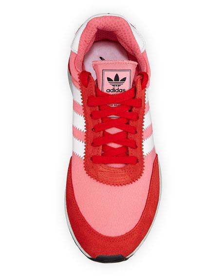 Iniki Vintage Runner Sneakers, Pink/Orange