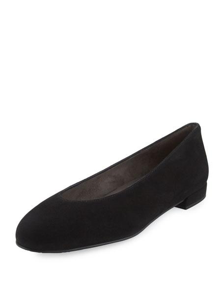 Chicflat Velvet Round-Toe Flat