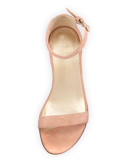 Nudistjune Suede 40mm Sandal