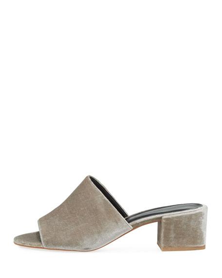 Ivonne Velvet Mule Sandal