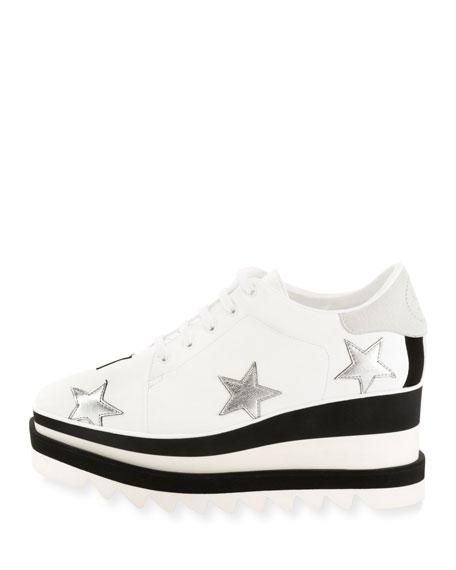 Sneakelyse Stars Platform Sneaker