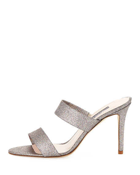 Blossom Glitter Slide Sandal