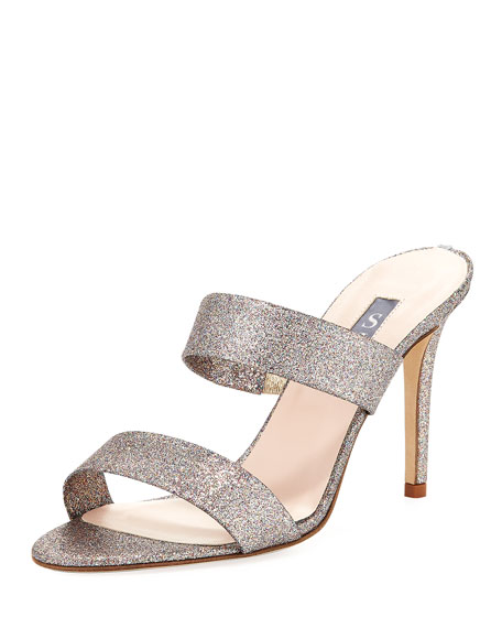 SJP by Sarah Jessica Parker Blossom Glitter Slide