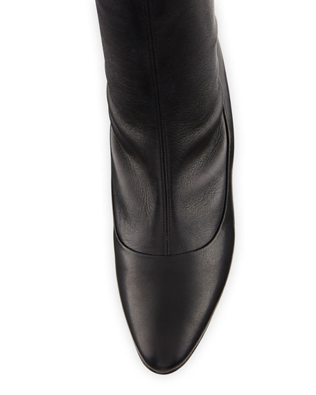 Todi Fitted Leather Ankle Boot