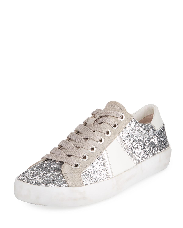 9a96050a9c7bf Sam Edelman Baylee Glitter Metallic Sneaker