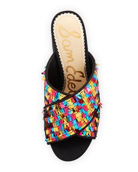 Stanley Pinata Sequin Slide Sandal