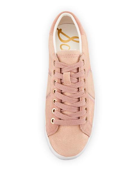 Baylee Shimmer Suede Sneakers