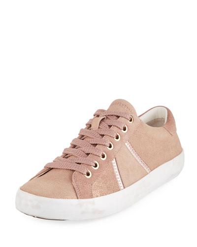 Baylee Shimmer Suede Sneaker