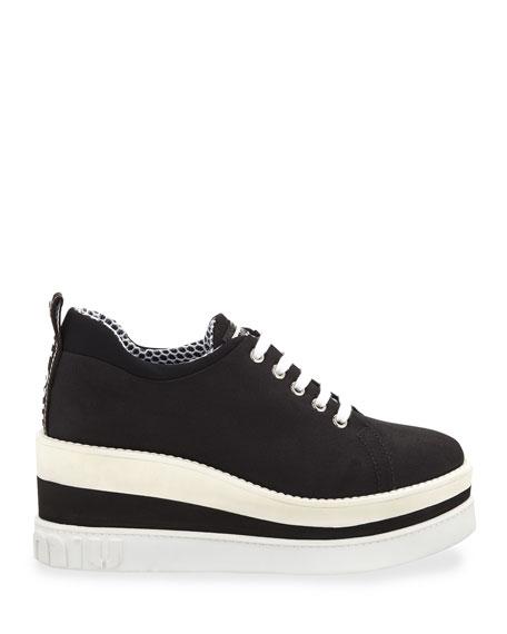 Nylon-Tech Platform Sneakers