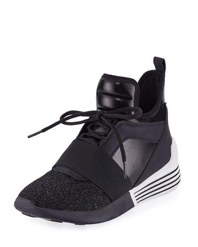 Braydin Neoprene High-Top Sneaker
