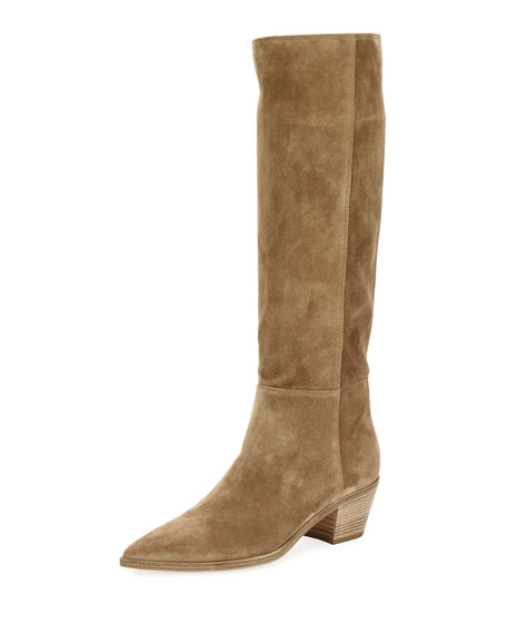 Slouch Western Knee-High Boot