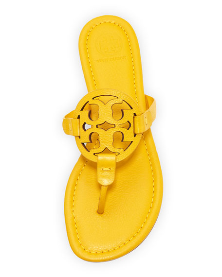 Miller Leather Logo Sandal