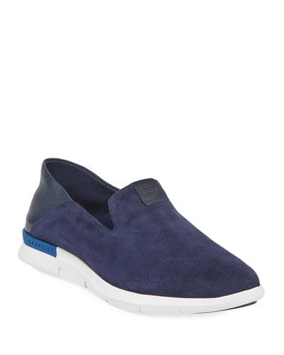 Grand Horizon Slip-On Sneaker, Blue/White