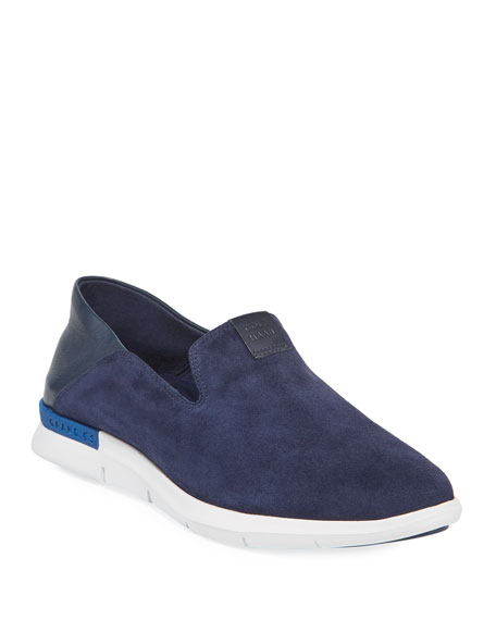 Cole Haan Grand Horizon Slip-On Sneaker, Blue/White