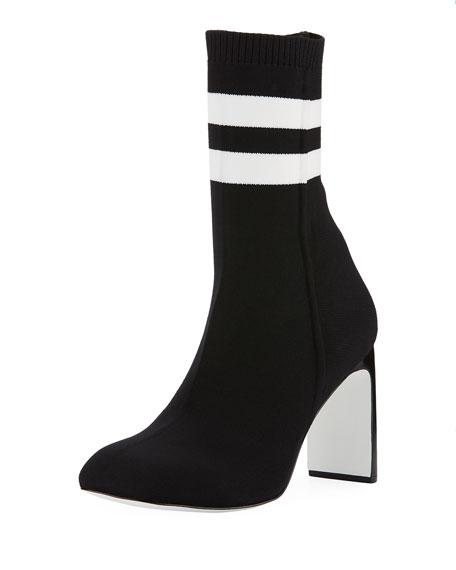Rag & Bone Ellis Striped Sock Boot