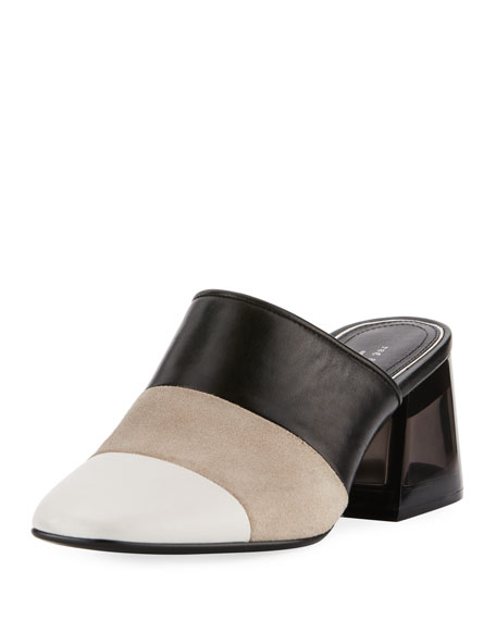 Millie Colorblock Slide Mule