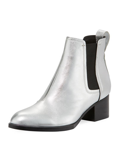 Walker III Metallic Gored Bootie