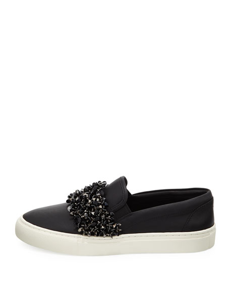 Logan Embellished Platform Sneakers