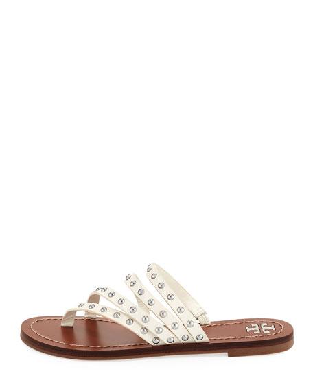 Patos Studded Slide Sandal