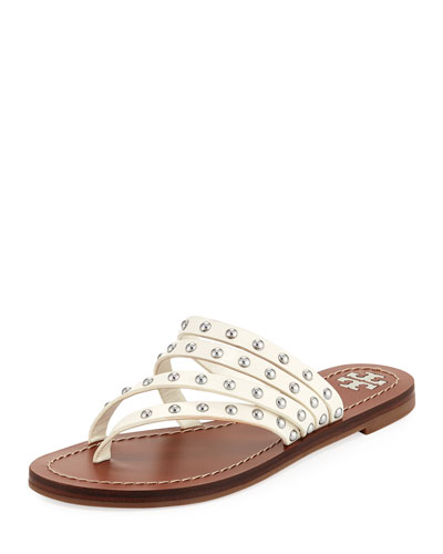 Patos Studded Slide Sandal