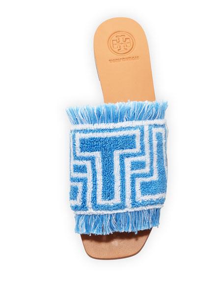 Logo Towel Flat Sandal