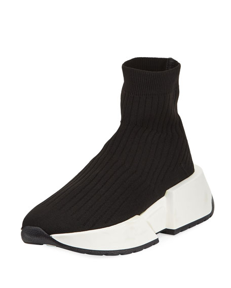 MM6 Maison Martin Margiela Knit Pull-On Ankle Jogger