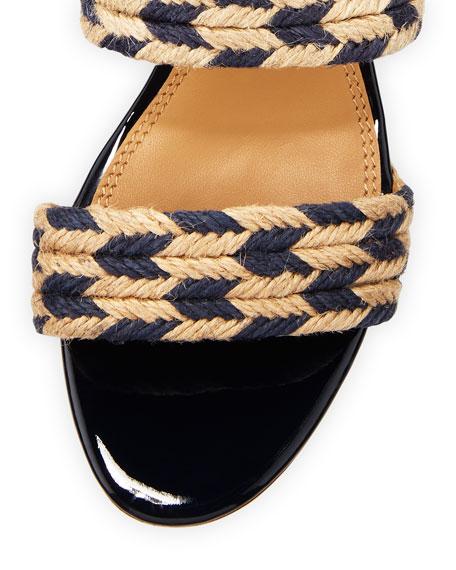 Lola Woven Double Band Sandal