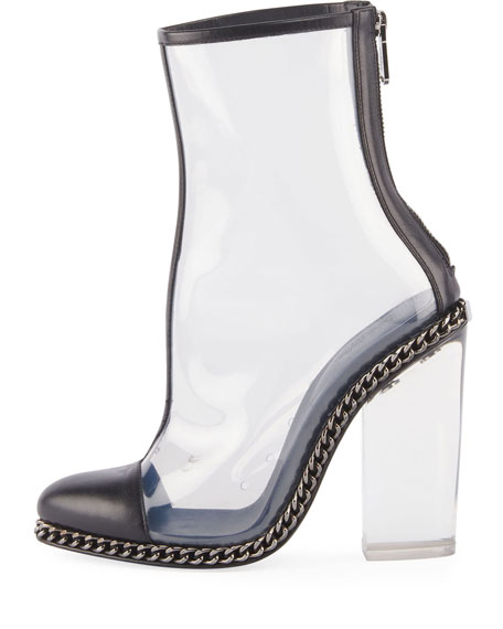 Dax Clear Chain-Trim Boot