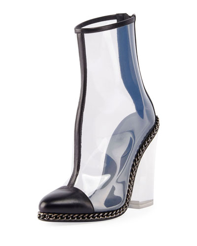 Dax Clear Chain-Trim Boot