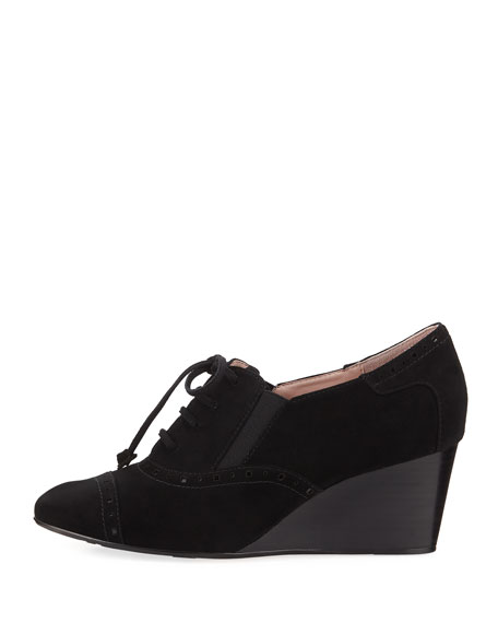 Katri Suede Wedge Oxford