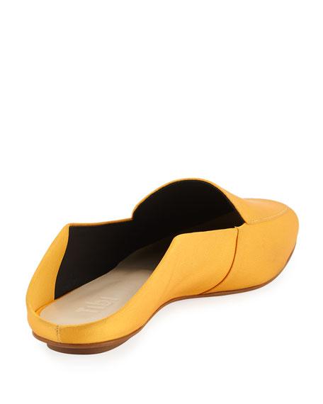 Cecil Satin Slide Loafer