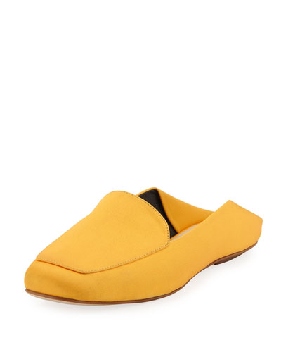 Cecil Satin Slide Loafer