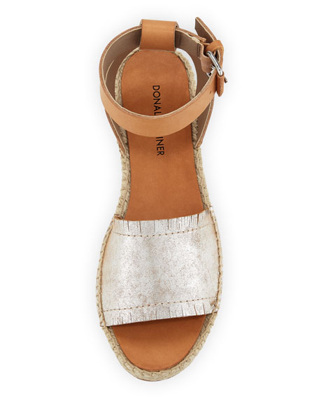 Rowan Mixed Espadrille Sandal