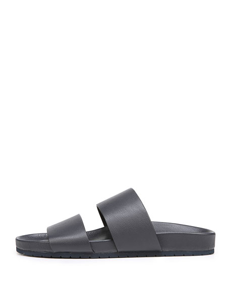 Georgie Leather Pool Sandal