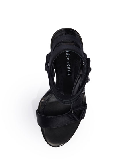 Tamryn Asymmetric High Sandal