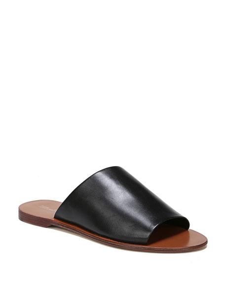 Diane von Furstenberg Barrett Single-Band Flat Slide Sandal