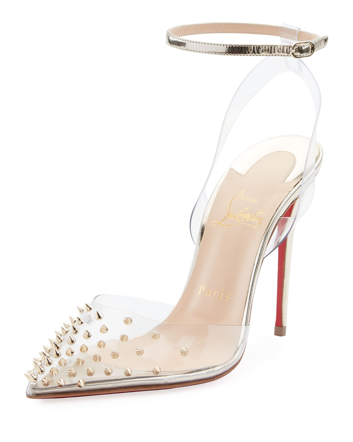 Christian Louboutin Spikoo Spiked Ankle