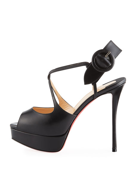 Hollandrive Platform Red Sole Pump