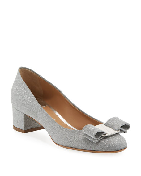 Vara 1 Glitter Vara Bow Pumps