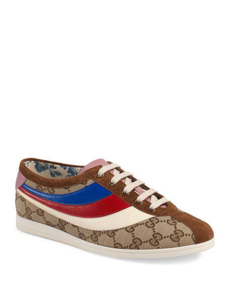 Gucci Falacer GG Fabric Trainer Sneakers