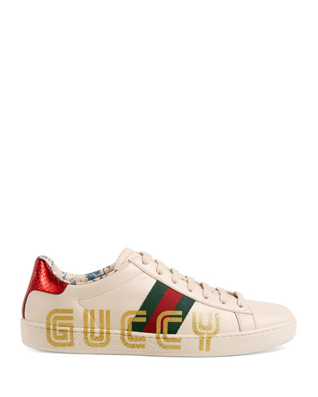 Ace Guccy Leather Sneaker