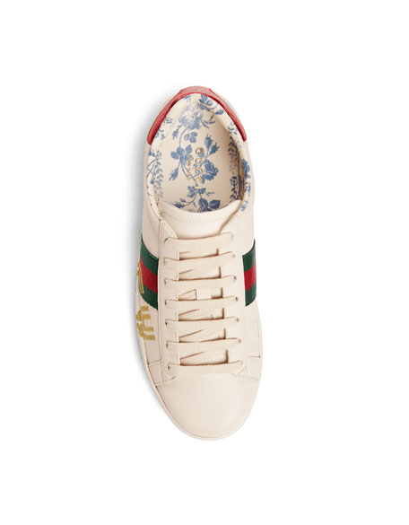 Guccy Leather Sneakers