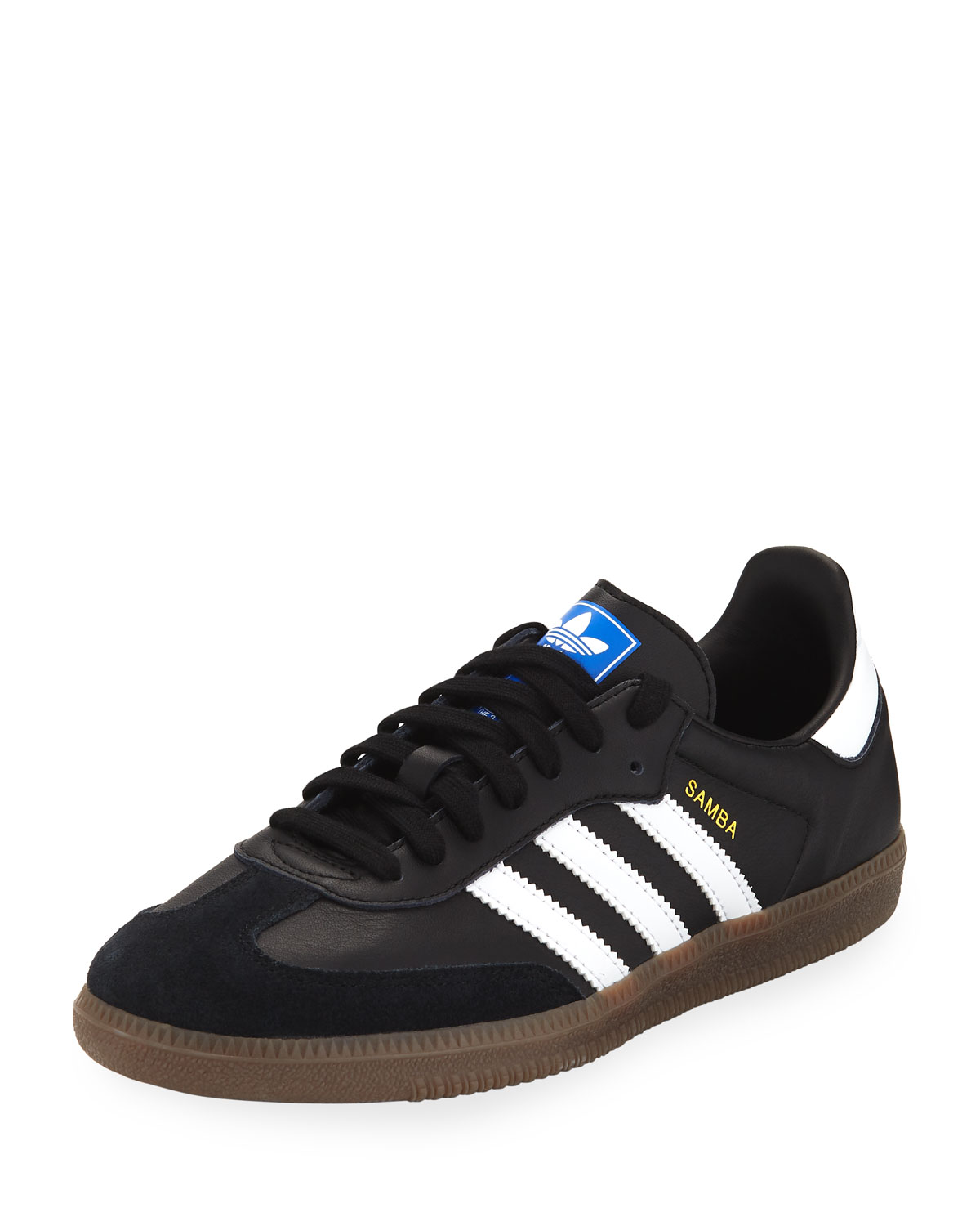 a55f90cfb580 Adidas Samba Original Leather Suede Sneakers