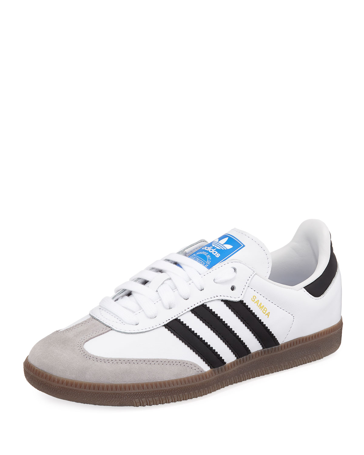 Adidas Samba Original Leather Suede Sneakers f55668c6412a