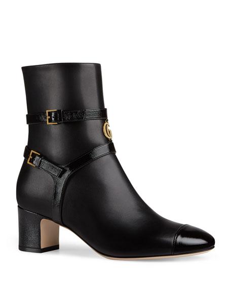 Gucci Multi-Strap Booties