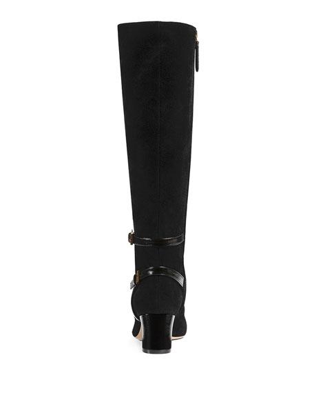 Geraldine 55mm Suede Boot