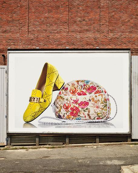 Sylvie 55mm GG Velvet Loafer