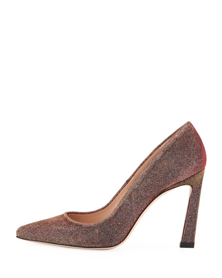 Chicster Sparkle Point-Toe Pump